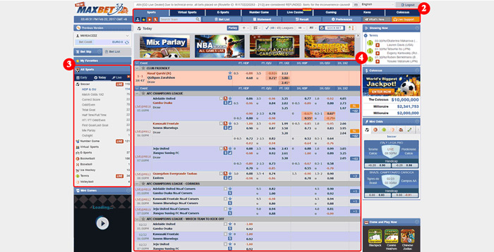 maxbet sportsbook